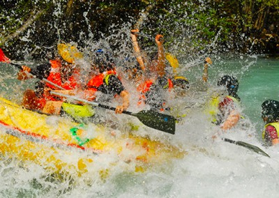 Adrenalinski rafting Tarom