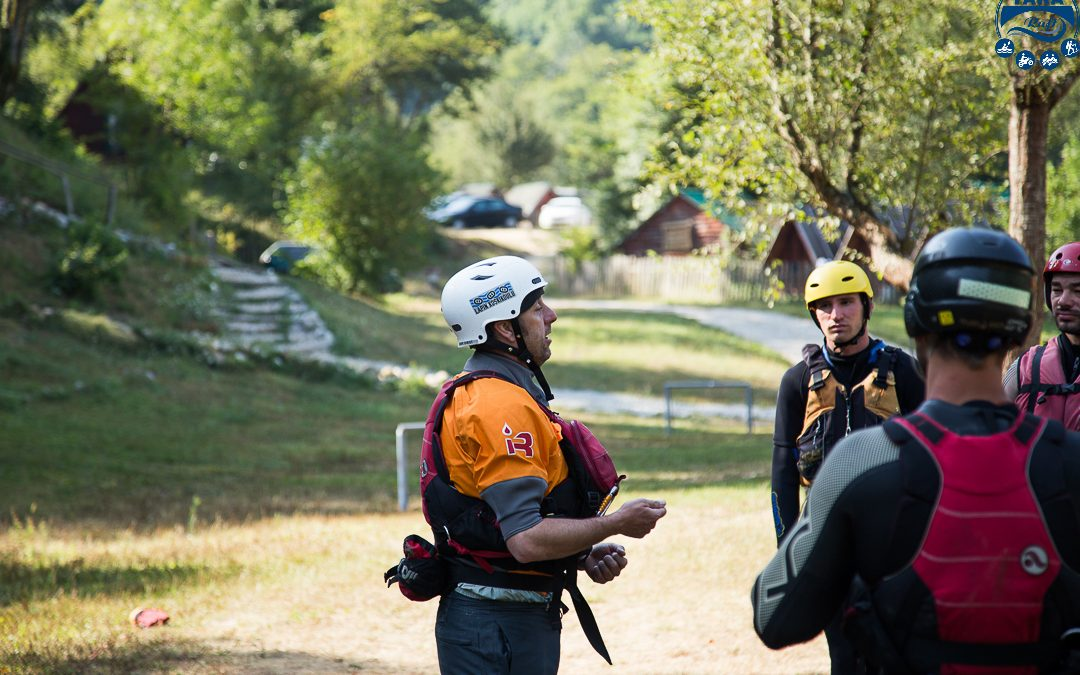 IRF & Rescue3 standardi. Kako postati rafting vodič?