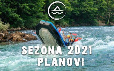 Planovi za sezonu 2021